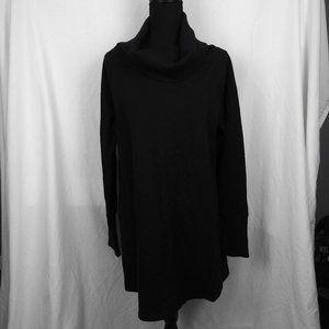 Soft Surroundings - Black Cowl Neck Long Sleeve